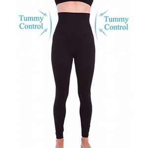 Homma High Waist Compression Leggings XL Black